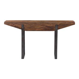 Mahogany Wood Sofa Table For Sale