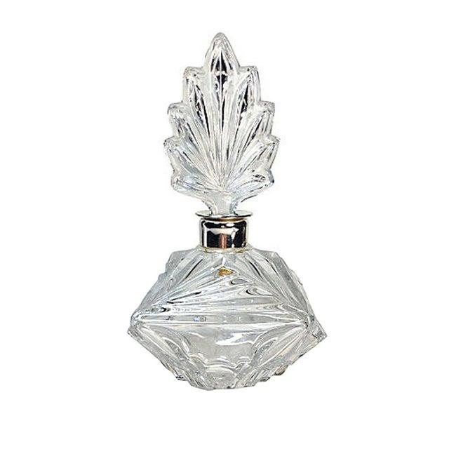 Press-Cut Glass Perfume Bottle - Image 6 of 6