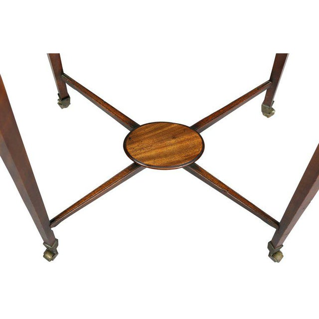 George III Mahogany Work or End Table For Sale - Image 4 of 9