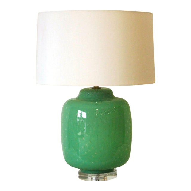 Green Gus Lamp by Emporium Home - Image 1 of 3