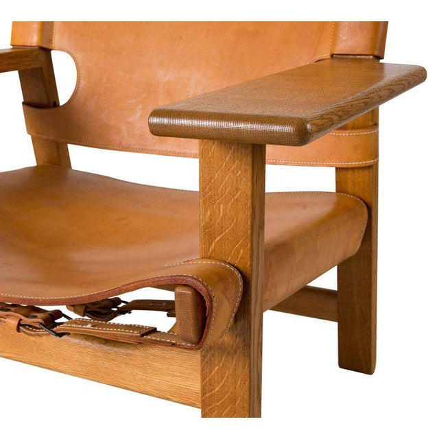 "Børge Mogensen ""Spanish"" Chair - Image 7 of 10"