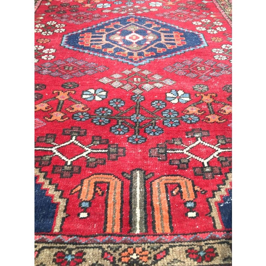 """Semi-Antique Persian Rug - 4'4"""" x 6'4"""" - Image 3 of 6"""