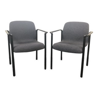Herman Miller El101 Mid Century Arm Chairs - a Pair For Sale