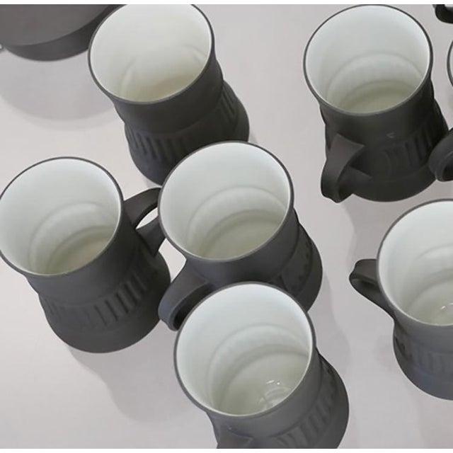 Jens Quistgaard Vintage Dansk Flamestone Coffee Set / Jens Quistgaard - Set of 19 For Sale - Image 4 of 7
