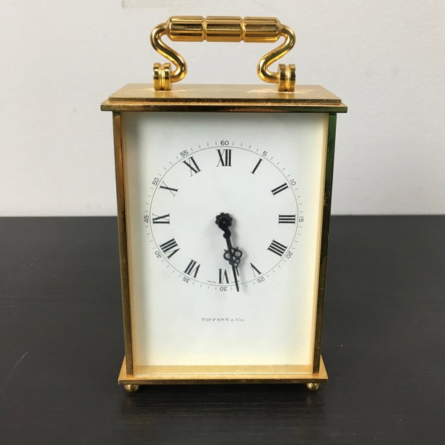 Tiffany & Co. Accent Clock - Image 3 of 6