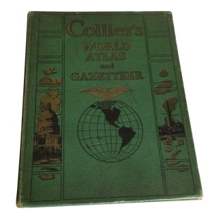 1941 Collier's World Atlas With Great Cover