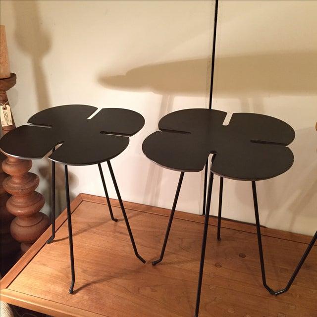 Vintage Clover Leaf Nesting Tables - Set of 3 - Image 8 of 11