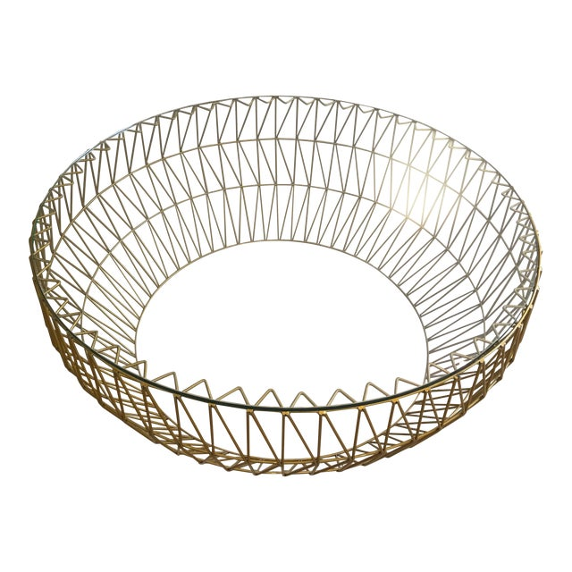 Bend Goods Wire Coffee Table - Image 1 of 3