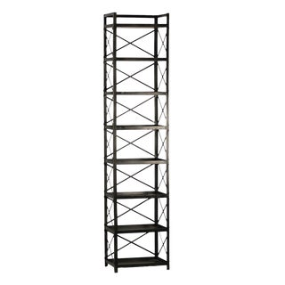 Industrial Iron Bookcase For Sale