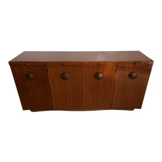 1940s Art Deco Gilbert Rohde Paldao Server Credenza For Sale