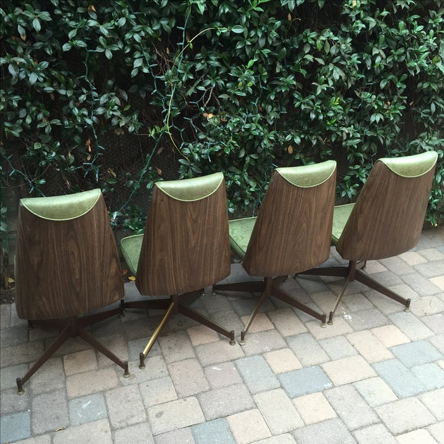Mid-Century Modern Walter of Wabash Dining Set For Sale - Image 5 of 7