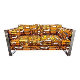Mid-Century Retro Loveseat Sofa For Sale
