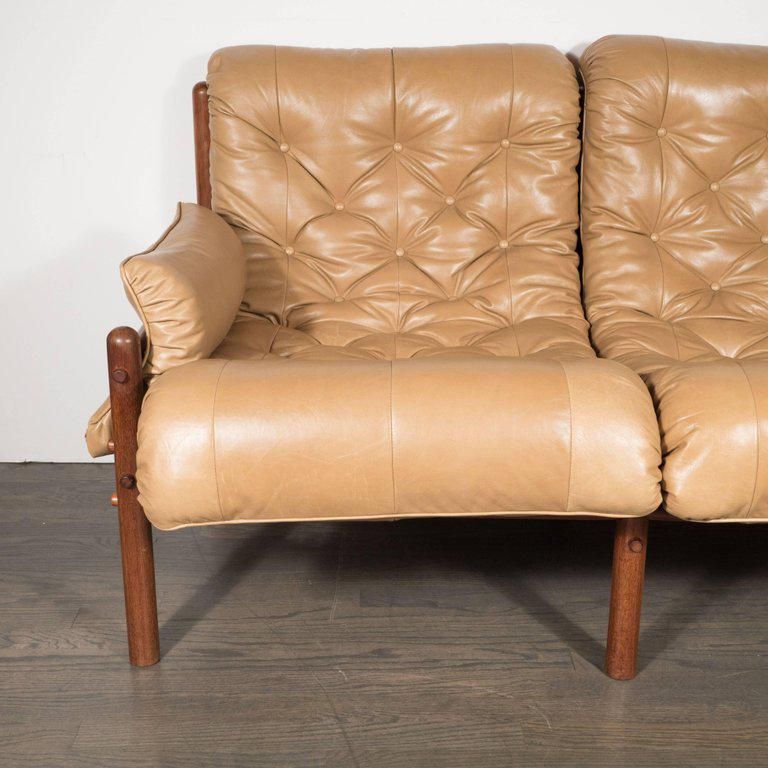 Exceptionnel Inca Safari Lounge Sofa In Butterscotch Leather By Arne Norell For Sale In  New York