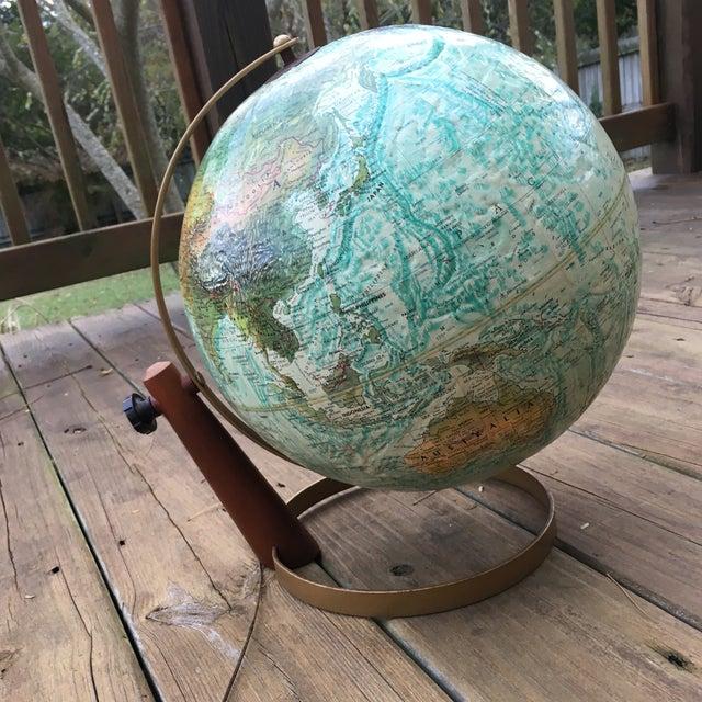 Vintage Replogle Globe on Stand For Sale - Image 5 of 5