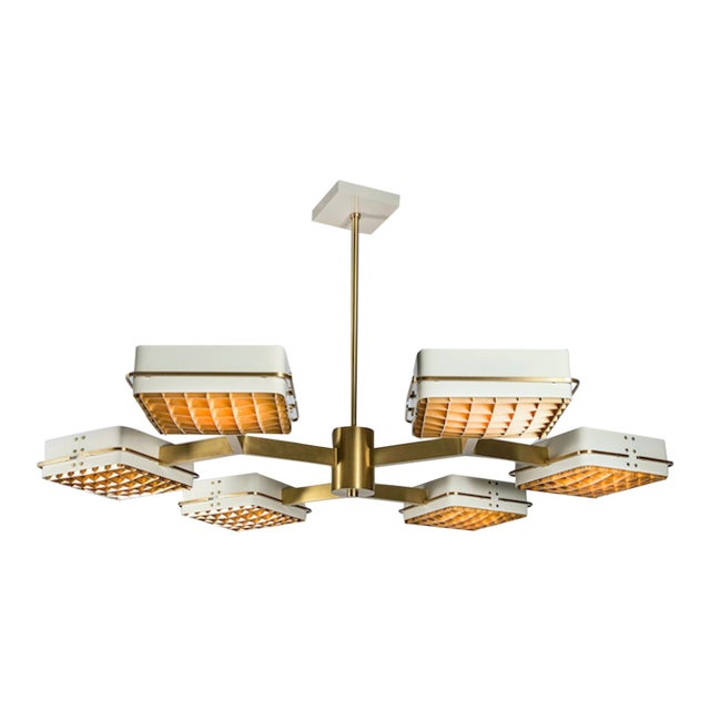 The Lawson Chandelier by Studio Van Den Akker For Sale