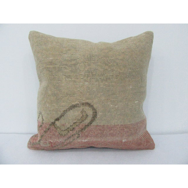 Vintage Turkish Decorative Handmade Pillow Cover For Sale - Image 4 of 4