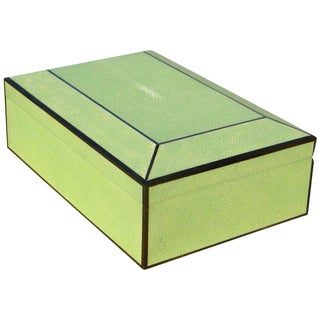 Shagreen Humidor Box For Sale