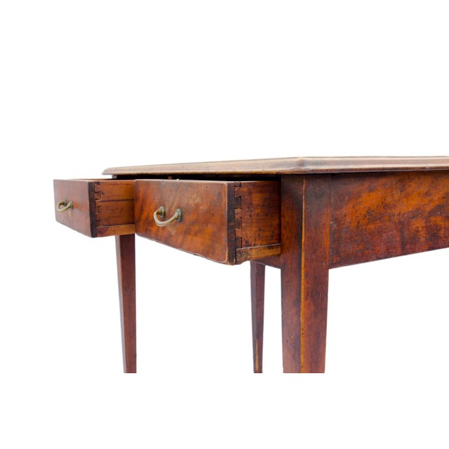 Antique Cherry Desk or Dressing Table - Image 4 of 8 - Antique Cherry Desk Or Dressing Table Chairish