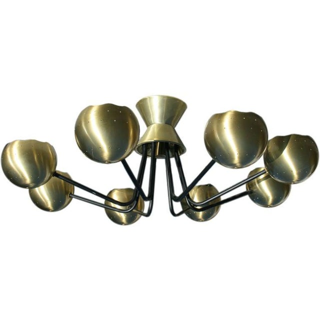 Chandelier by Gerald Thurston for Lightolier For Sale In Richmond - Image 6 of 6