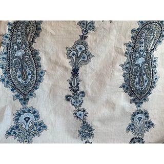 Lee Jofa Khamsa Paisley Blue Fabric - 3 Yards For Sale