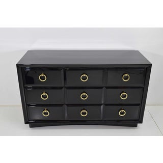 Robsjohn-Gibbings for Widdicomb Chest of Drawers in Black Lacquer Preview