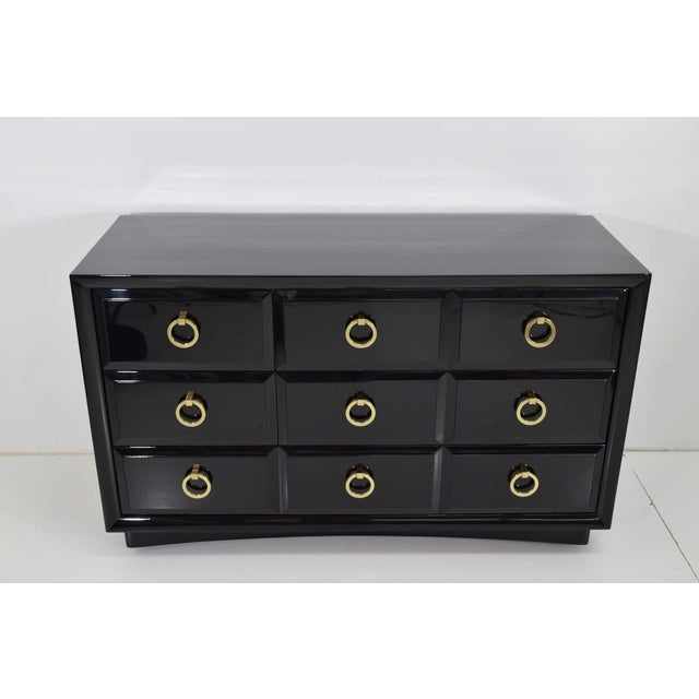 Beautifully made chest of drawers, on casters for easy moving. This makes a great dresser or chest for anywhere needed...