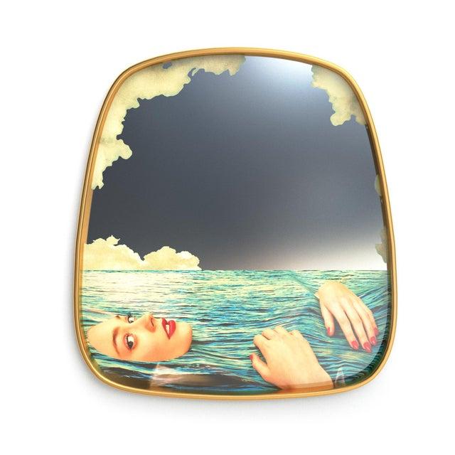 Contemporary Seletti, Sea Girl Mirror, Toiletpaper, 2018 For Sale - Image 3 of 3