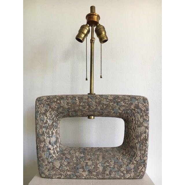 Rita Sargen Mid-Century Modern Ceramic Lamp For Sale - Image 13 of 13