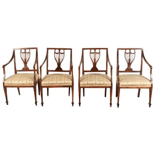 Set of Four 18th Century French Chairs For Sale
