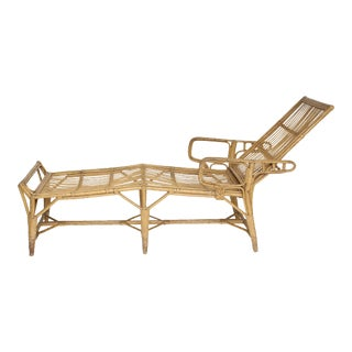 Rattan Deck Lounger For Sale