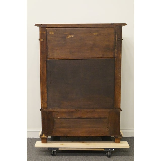 20th Century Traditional Burl Walnut and Mahogany Court Cupboard For Sale - Image 10 of 12