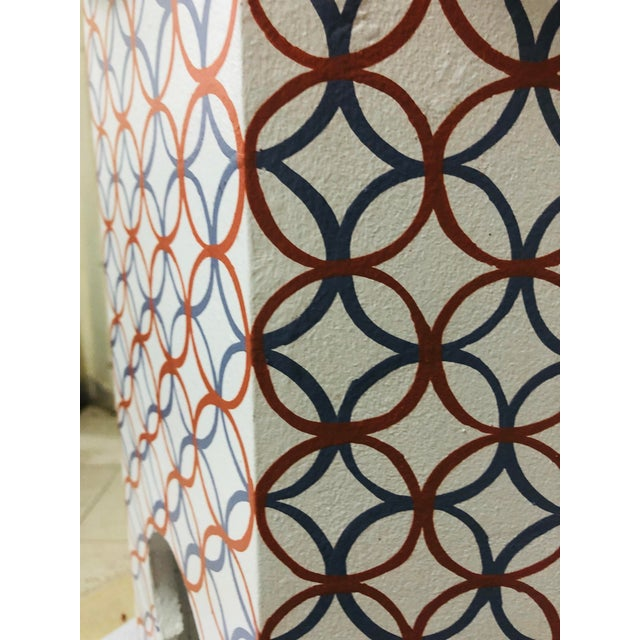 Moroccan Style Lamp Tables - a Pair For Sale - Image 9 of 10