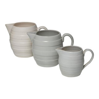 Set of Three Ceramic Pitchers by Guido Andloviz for Sci Laveno For Sale