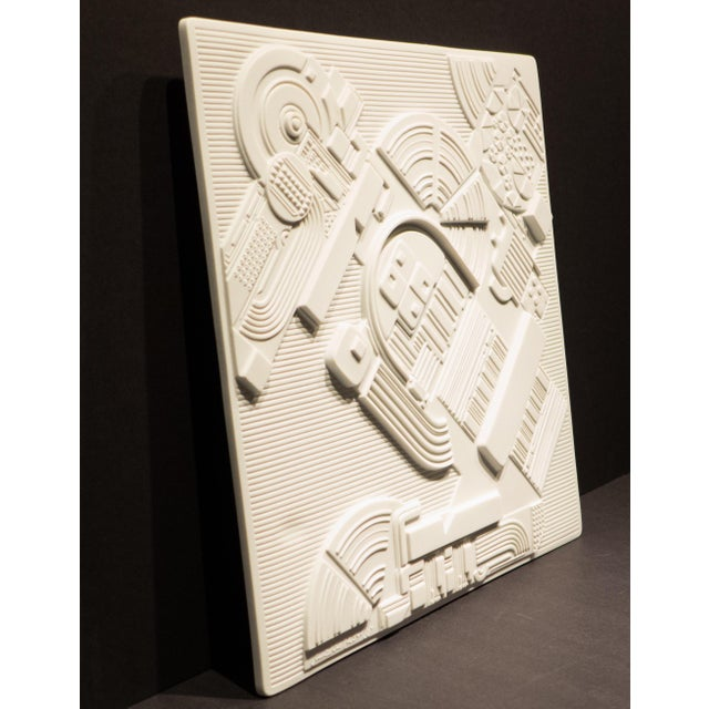 Mid-Century Modern Eduardo Paolozzi Plaque for Rosenthal For Sale - Image 3 of 9