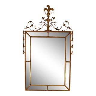 Antique Carvers' Guild Prince of Wales Gold Leaf Mirror For Sale