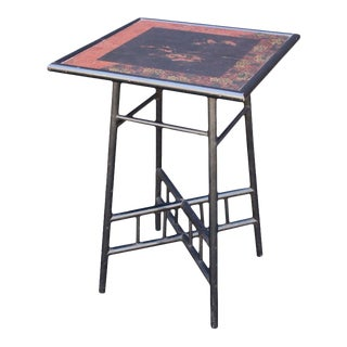 Japan-Lacquered Table from Arts & Crafts-Era, England For Sale