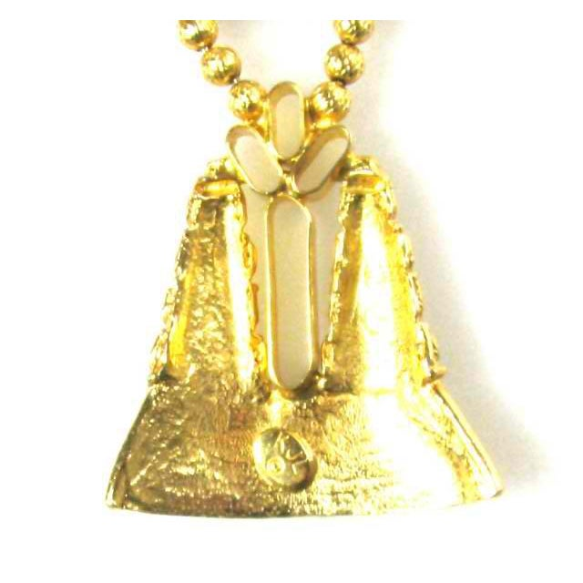 1970s Kenneth Jay Lane Boho Pendant Necklace For Sale - Image 4 of 5