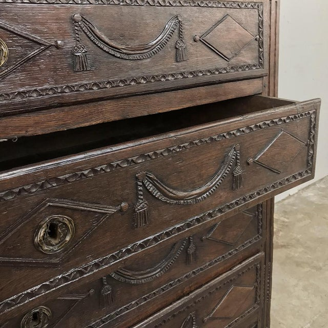 18th Century Country French Louis XVI Commode For Sale In Dallas - Image 6 of 12