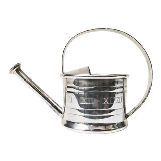 1947 Cartier Sterling Silver Watering Can Vermouth Dripper For Sale