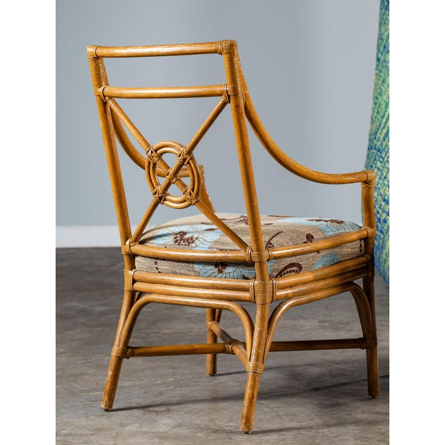 Tan 1970s Vintage McGuire Bamboo Target Design Chairs - a Pair For Sale - Image 8 of 13