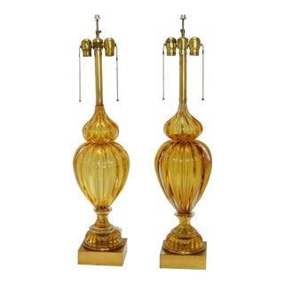 Pair of Murano Lamps