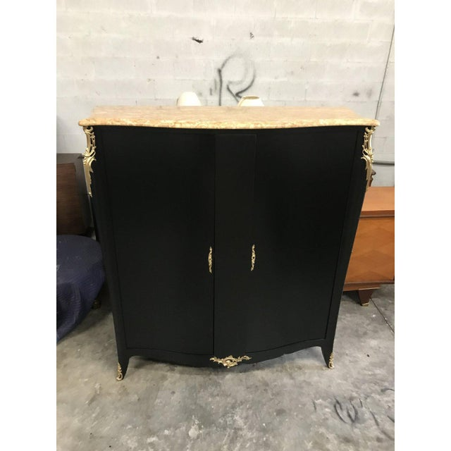 1910s French Louis XVI Dry Bar With Marble Top For Sale - Image 12 of 13