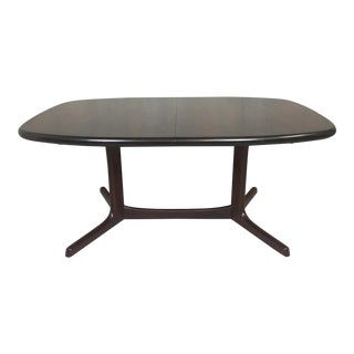 Danish Modern Rosewood Dining Table by Dyrlund