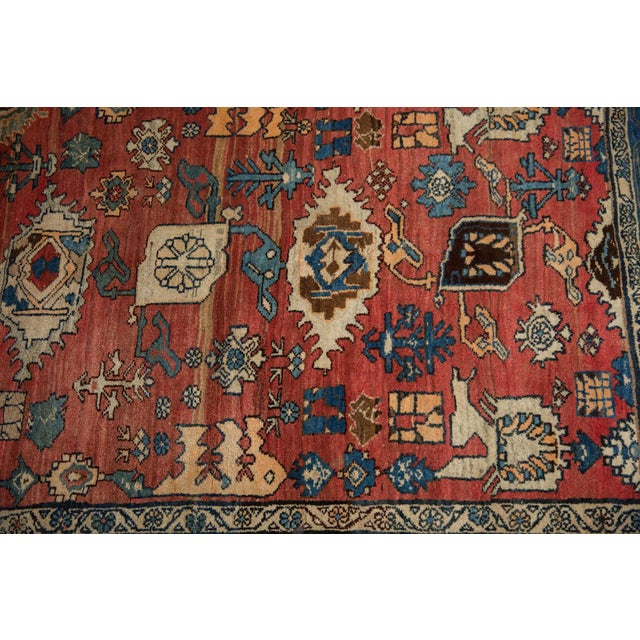 "Old New House Vintage Bijar Rug - 4'10"" X 7' For Sale - Image 4 of 13"