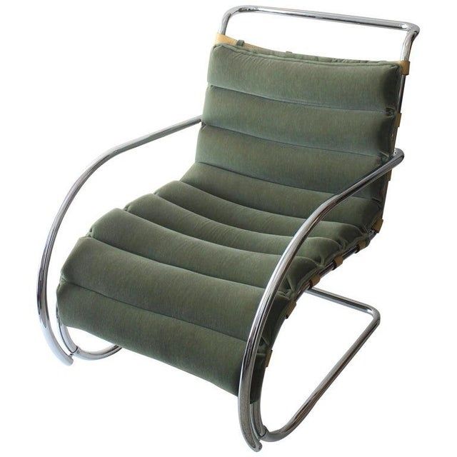 Vintage Mies Van Der Rohe Style Lounge Chair by Gordon International For Sale - Image 13 of 13