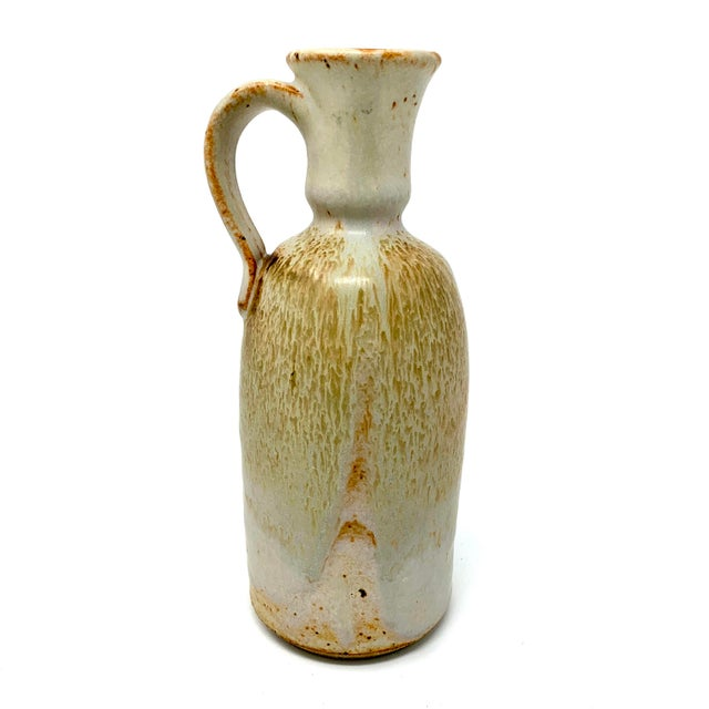 Mid 20th Century Studio Pottery Pitcher For Sale - Image 11 of 11