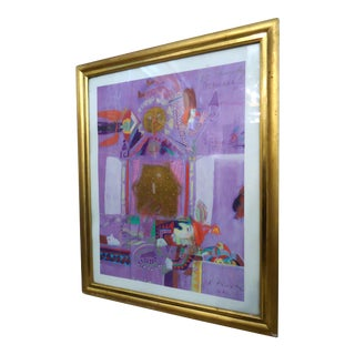 Vintage Abstract Wall Art For Sale