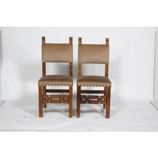 Neo-Gothic Tuscany-Style Dining Chairs, S/6 Preview