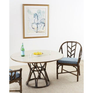 McGuire Organic Modern Round Game or Dining Table Preview