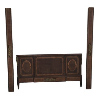 Early 20th Century Antique Belle Epoque Style Footboard For Sale
